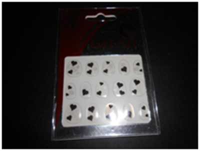gel full nail stickers