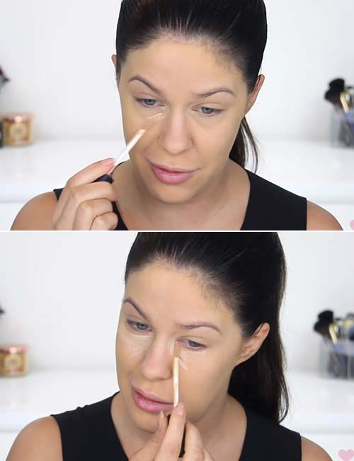 Makeup For Oily Skin - Go In With Concealer