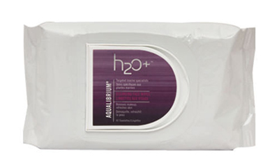 h2o plus aqualibrium cleansing face wipes 45S