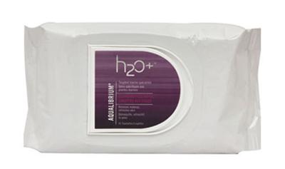 h2o plus aqualibrium cleansing face wipes 45S