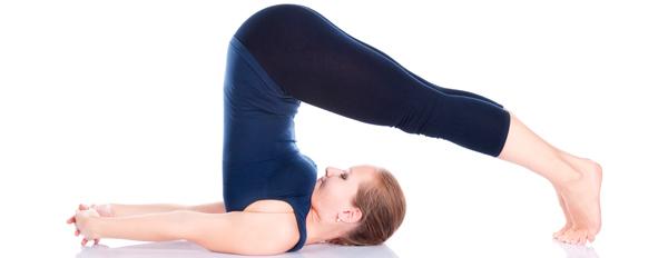 Halasana for yoga