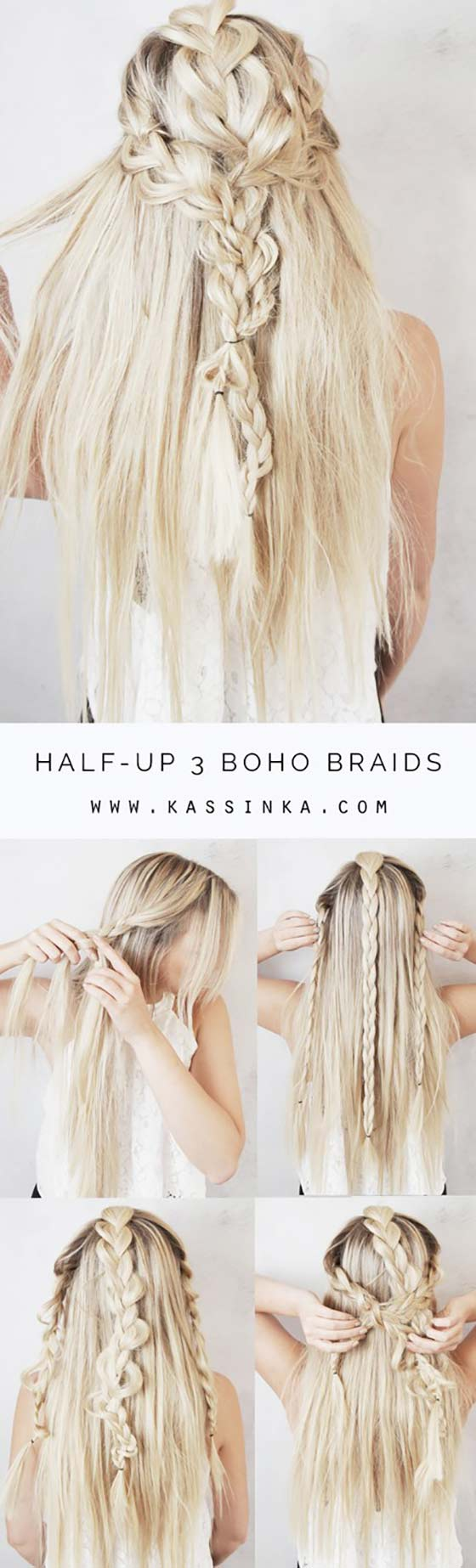 11 Braided Hairstyles For Long Hair