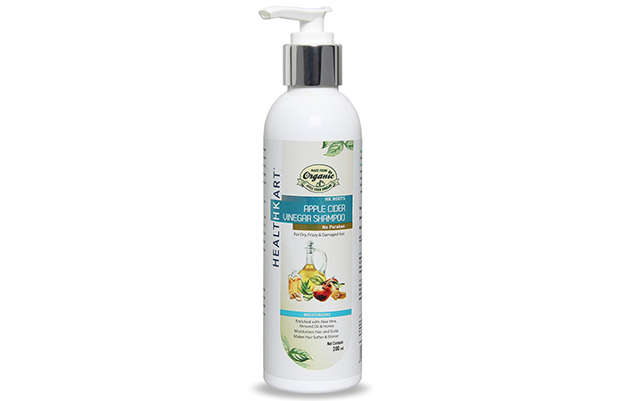 HealthKart Moisturizing Apple Cider Vinegar Shampoo - Shampoos For Frizzy Hair