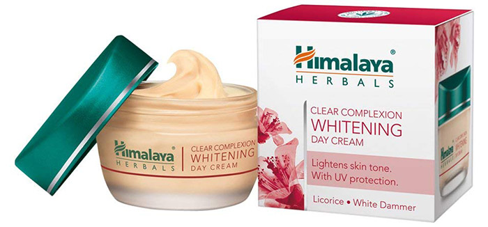 Himalaya Herbals Clear Complexion Whitening Day Cream - Skin Lightening Creams