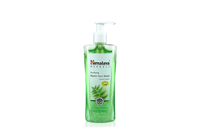 Himalaya Purifying Neem Face Wash - Acne Control Products