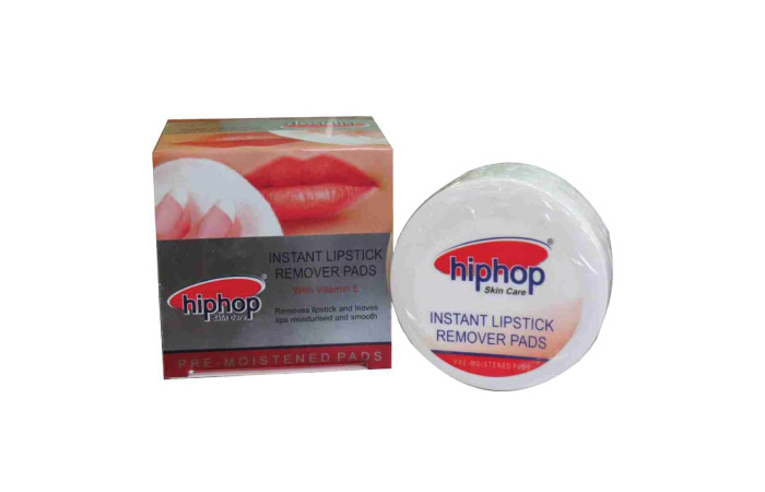 Hip-Hop Skin Care All Natural Instant Lipstick Remover Pads