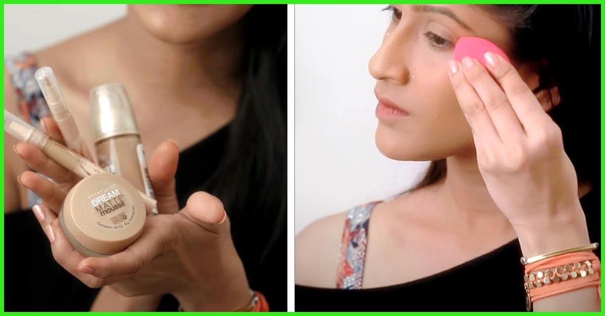How To Apply Liquid Foundation Flawlessly With Brush Or Fingers
