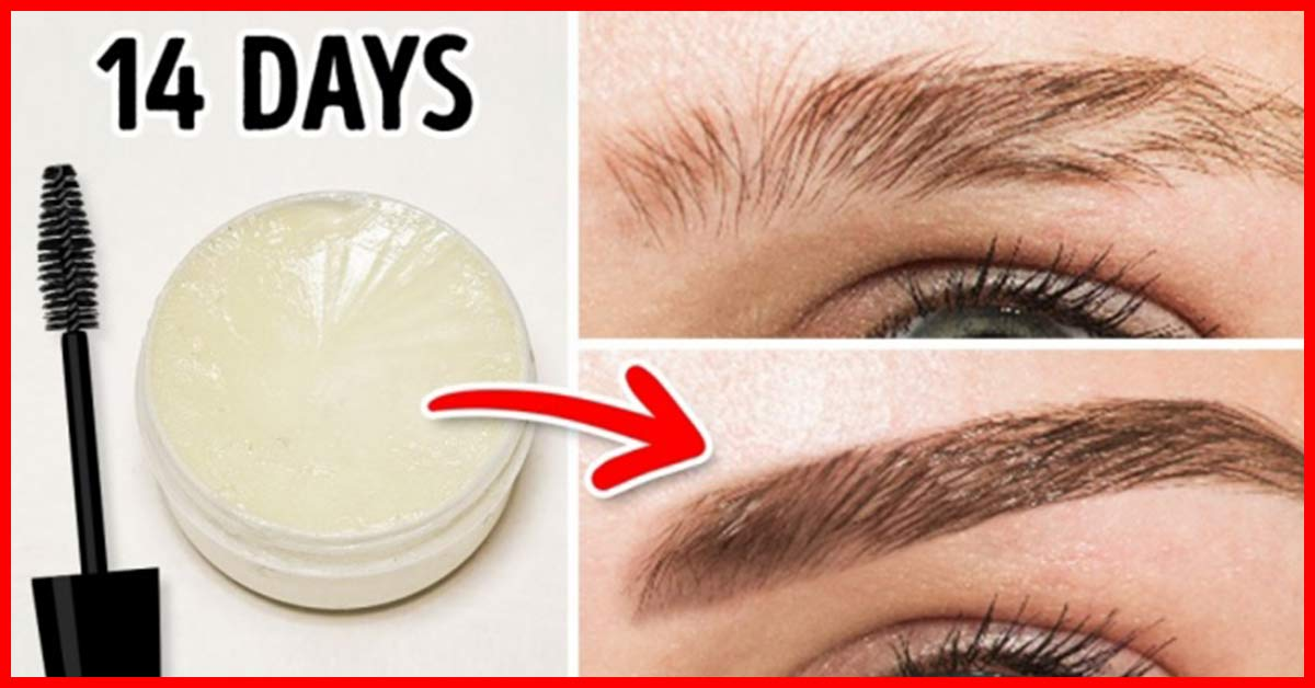 How To Thicken Your Eyebrows Naturally