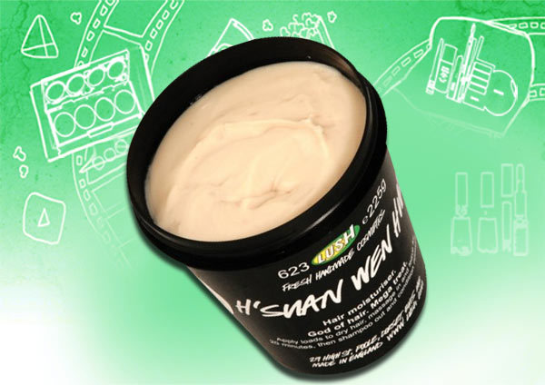 lush h'suan wen hua hair treatment