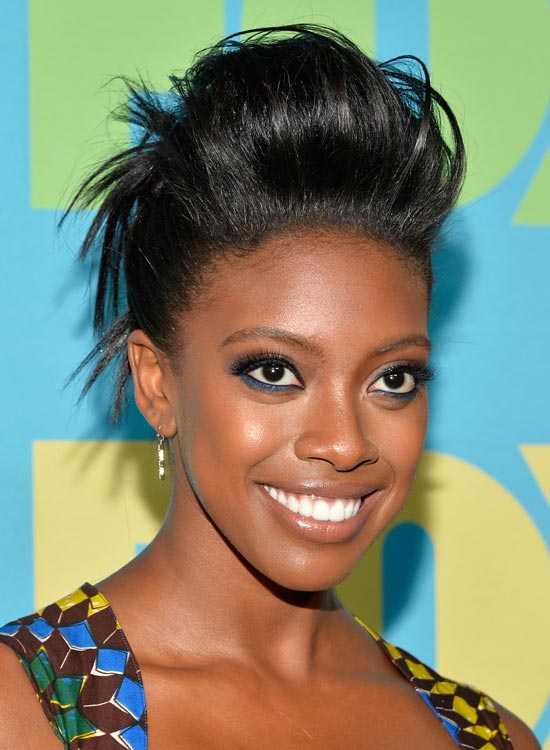 Jet-Black-Wispy-Hair-Up-Do-with-Huge-Pouf