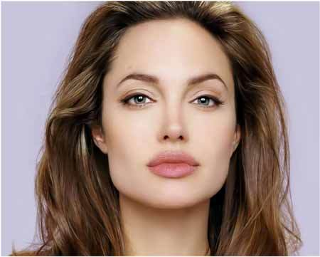 angelina jolie eyebrow shape