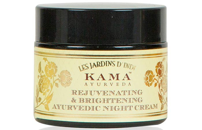 Kama Ayurveda Brightening Night Cream - Best Fairness Creams For Oily Skin