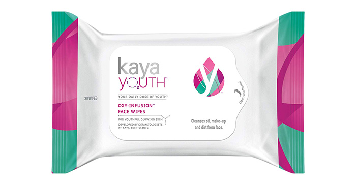 Kaya Youth Oxy-Infusion Face Wipes