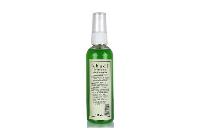 Khadi Mint and Cucumber Face Freshener - Acne Control Products