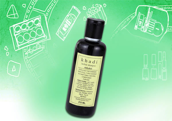 khadi shikakai herbal shampoo