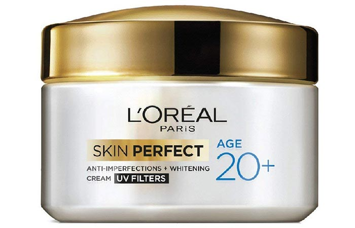 L'Oreal Paris Skin Perfect Anti-Imperfections + Whitening Cream - Skin Lightening Creams