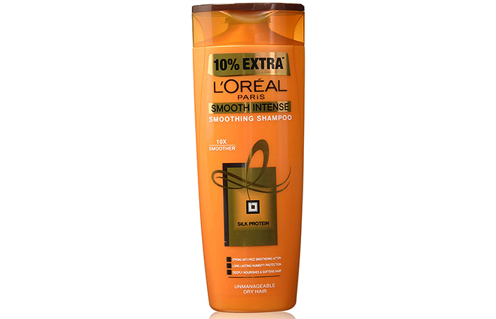 L'Oreal Paris Smooth Intense Smoothing Shampoo - Shampoos For Frizzy Hair