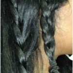 lace braid hairstyle