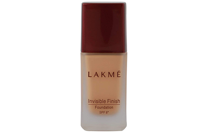 Lakmé Invisible Finish Foundation - Lakme Products For Oily Skin