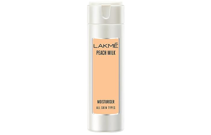 Lakmé Peach Milk Moisturiser - Lakme Products For Oily Skin
