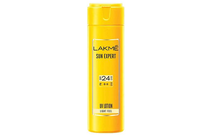 Lakmé Sun Expert UV Lotion - Lakme Products For Oily Skin