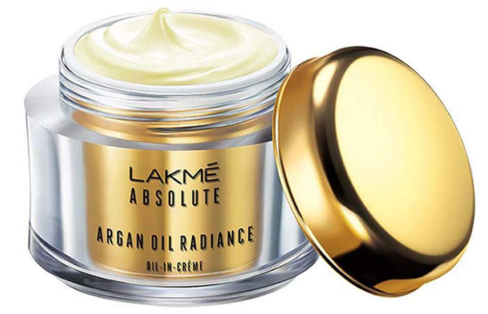 Lakme Absolute Argan Oil Radiance Crème - Best Fairness Creams For Oily Skin