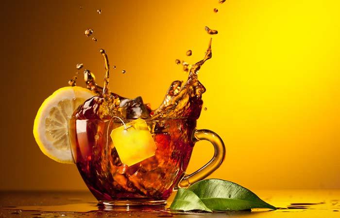 Lemon Water For Weight Loss - Lemon Herbal Tea