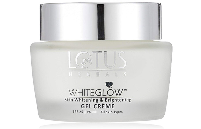 Lotus Herbals Whiteglow Skin Whitening & Brightening Gel Crème - Skin Lightening Creams