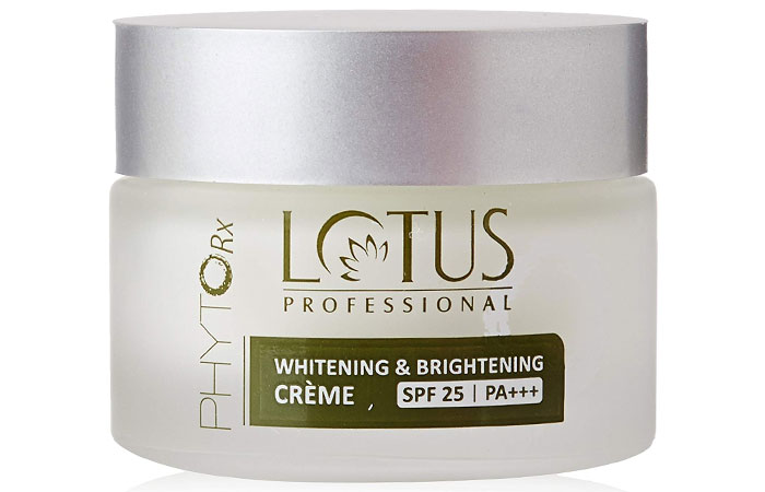 Lotus Professional Phyto Rx Whitening And Brightening Crème - Best Fairness Creams For Oily Skin