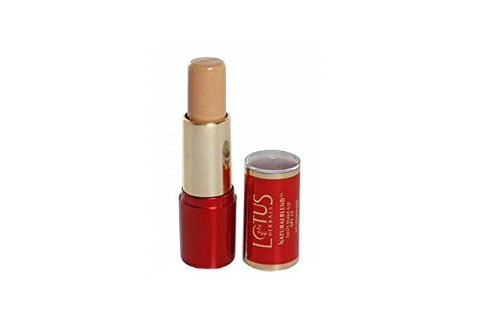 Best Concealers For Dry Skin - 4. Lotus Herbals Natural Blend Swift Makeup Stick