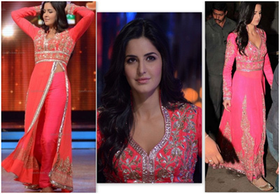 katrina kaif anarkali dress