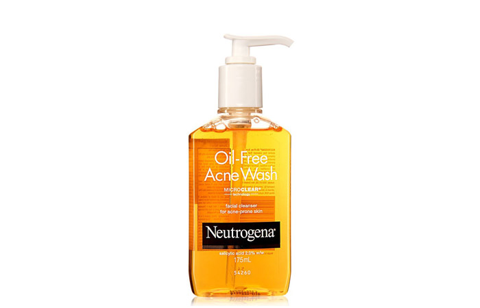 Neutrogena Oil Free Acne Face Wash - Acne Control Products