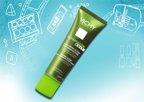 vichy normaderm daily care night chrono active anti imperfection care
