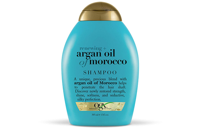 OGX Renewing + Argan Oil Of Morocco Shampoo - Shampoos For Frizzy Hair