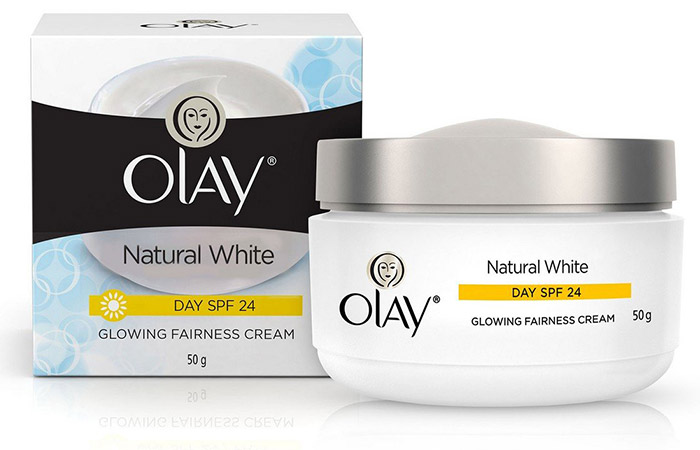 Olay Natural White Glowing Fairness Cream - Skin Lightening Creams
