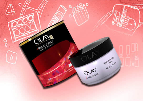 olay regenerist night recovery moisturizing cream