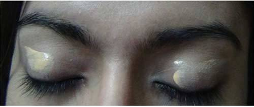 Apply Primer - Black Eye Makeup