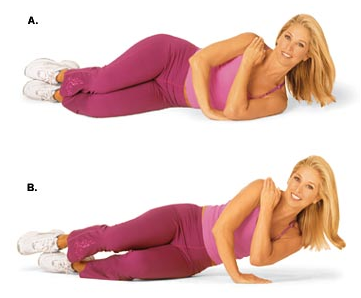 How To Get Rid Of Flabby Arms - One-Arm Side Push-Up