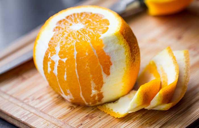 Orange-Peel-Scrub-For-Oily-Skin
