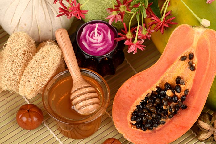 Papaya-And-Honey-Pack