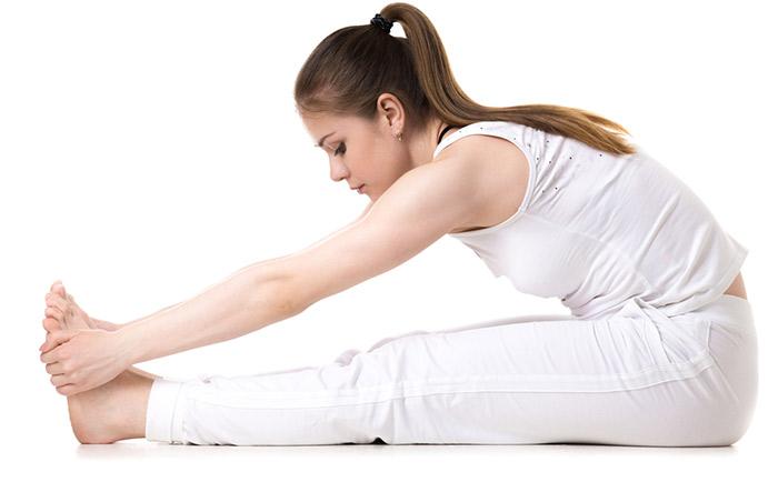 Paschimottanasana pose yoga
