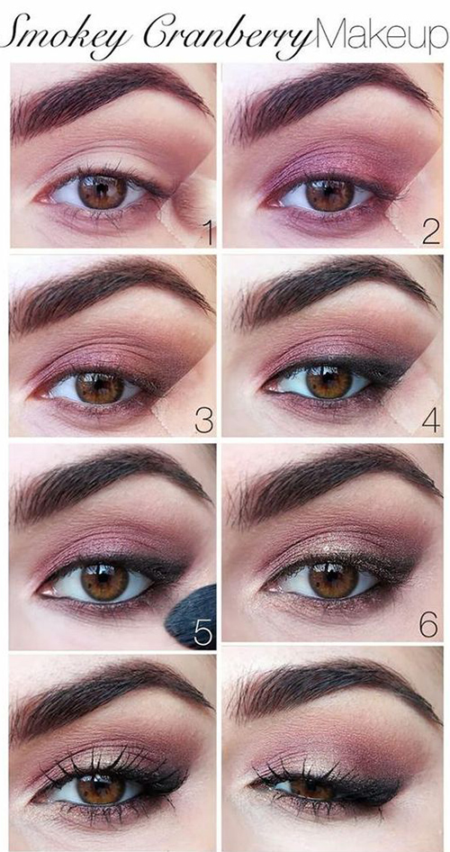 Assez How To Do Smokey Eye Makeup? - Top 10 Tutorial Pictures For 2017 WR96
