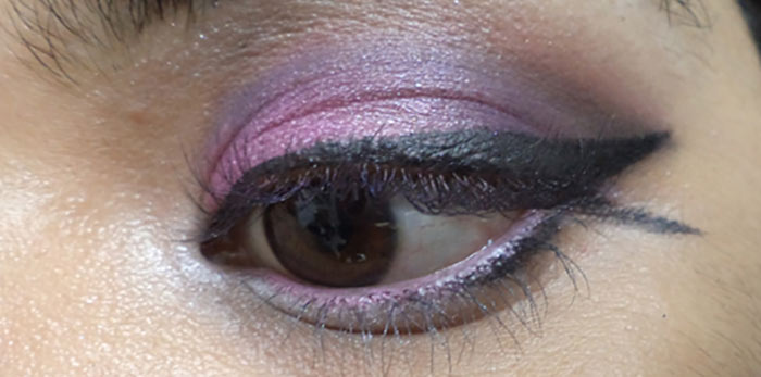 Purple Eye Makeup - Line Your Waterline