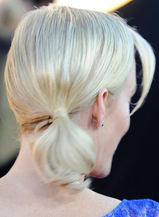 Platinum Short Ponytail