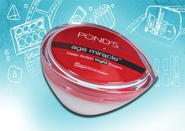 pond s age miracle deep action night cream