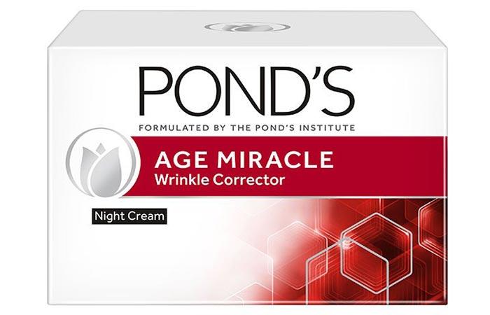 Crema de noche correctora de arrugas Age Miracle de Ponds