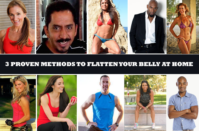 Proven Methods to Flatten your Belly At Home
