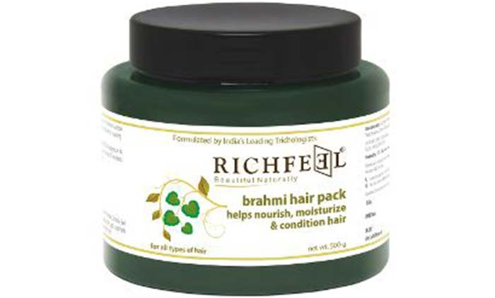 Richfeel Brahmi Hair Pack