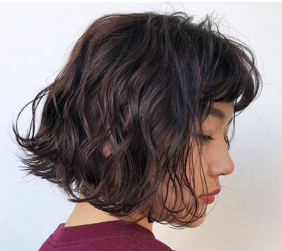 Short Body Wave Perm Hairstyles - HairStyles