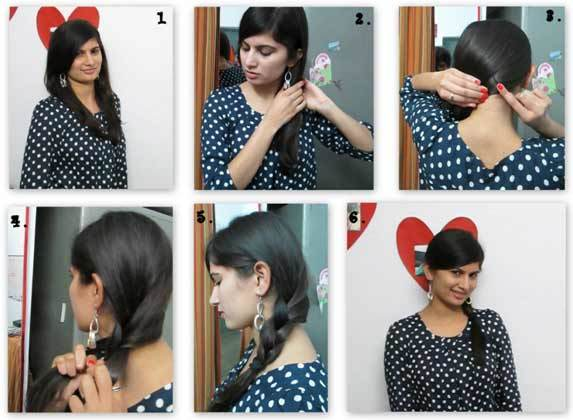 Step by Step Easy Hairstyles for Short Hair